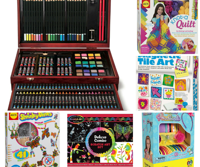60+ Gifts for Creative Kids