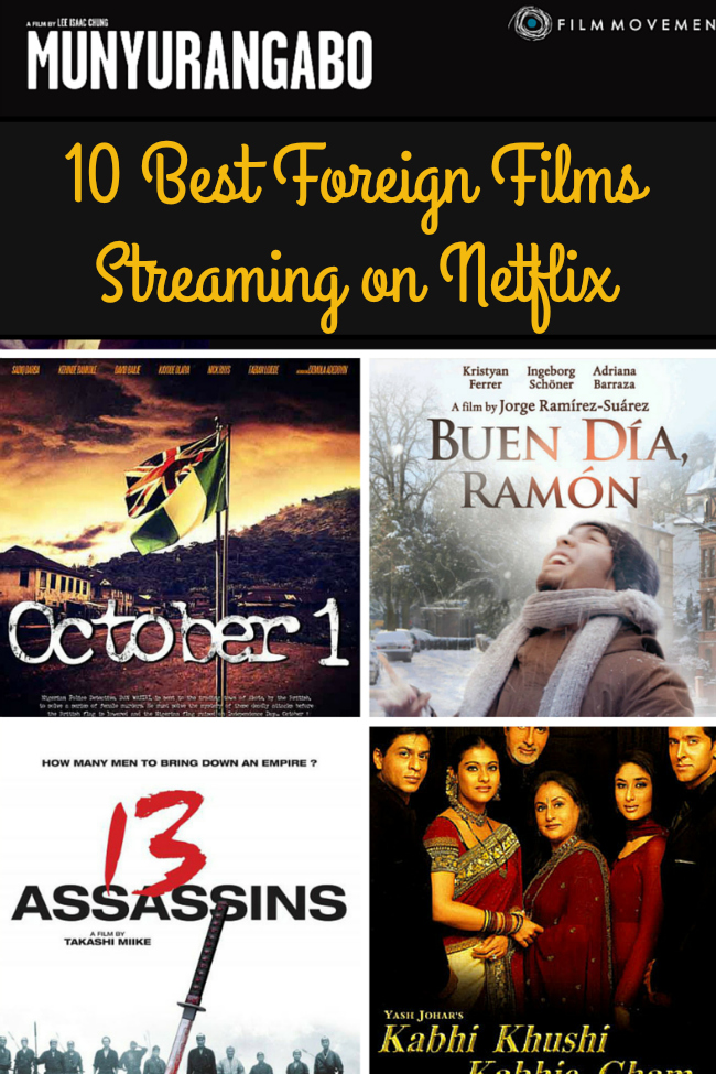 Best Foreign Films Streaming on Netflix