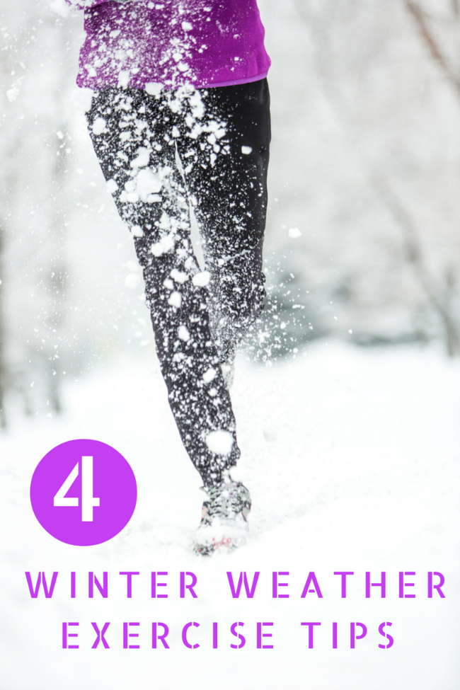 4 Winter Weather Exercise Tips