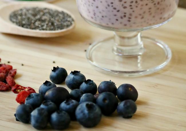 Ingredient Yogurt Chia Seed Pudding