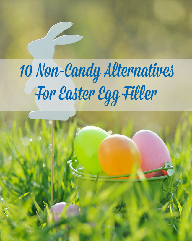 10 Non-Candy Alternatives For Easter Egg Filler