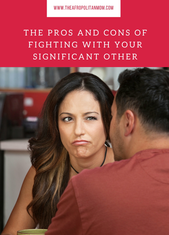 Fighting With Your Significant Other