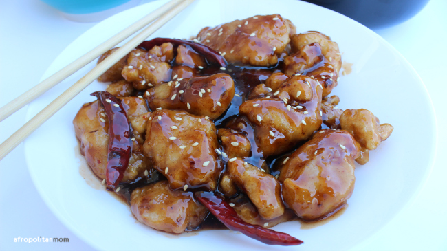 InnovAsian General Tso's Chicken