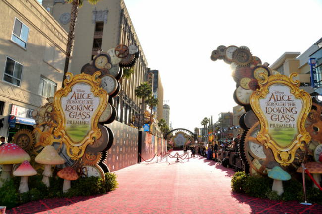 Disney's 'Alice Through the Looking Glass' Premiere red carpet