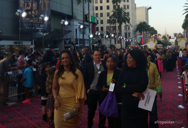 Tammy Townsend Alice through the looking glass premiere