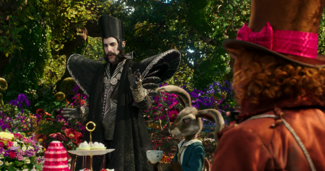 Sacha Baron Cohen is Time in Disney's ALICE THROUGH THE LOOKING GLASS, an all new adventure featuring the unforgettable characters from Lewis Carroll's beloved stories.