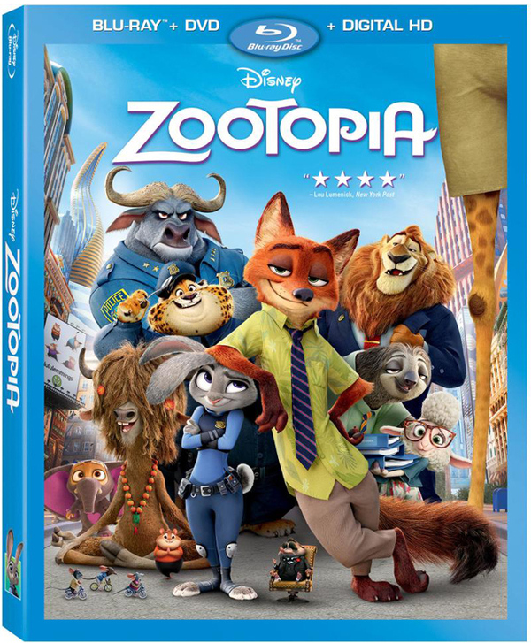 zootopia dvd release