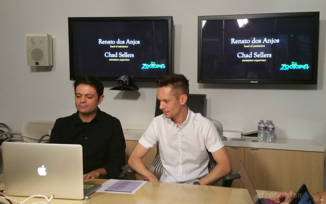 Disney's Animators - Renato dos Anjos & Chad Sellers