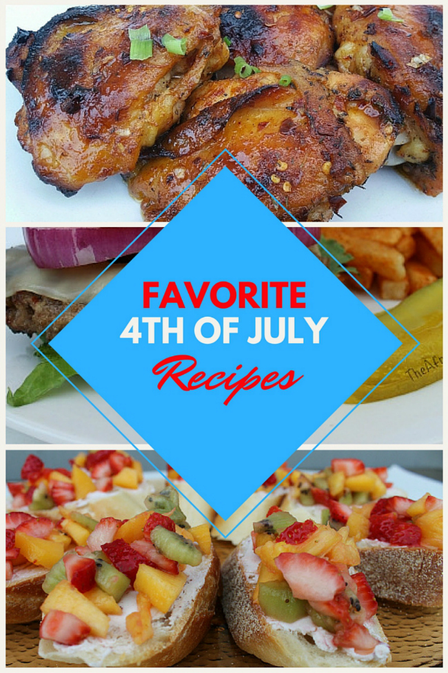 Favorite 4th of July Easy Recipes