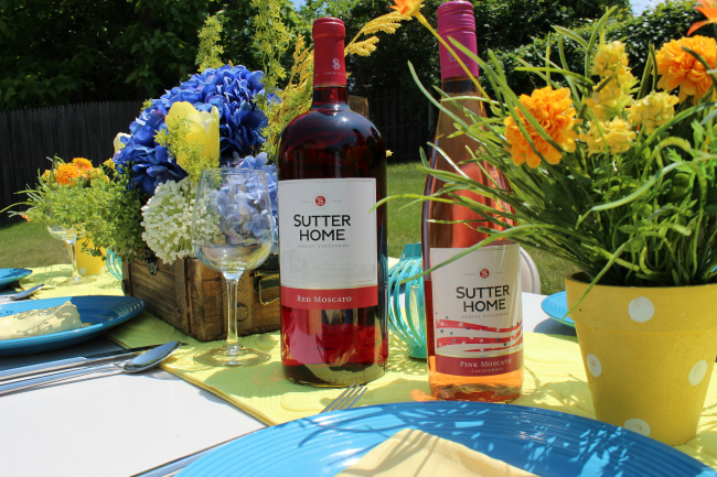 Summer Dinner Party Ideas and Tips drink option