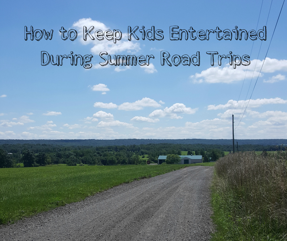 How to Keep Kids Entertained During Summer Road Trips