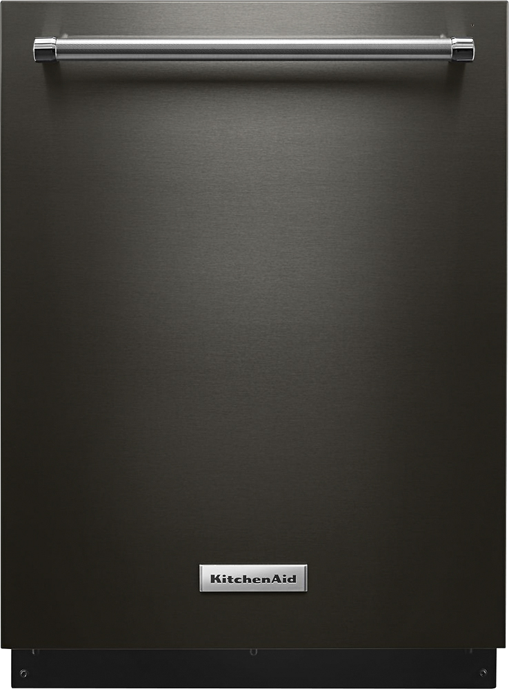 dishwasher - KitchenAid Black Stainless Appliances