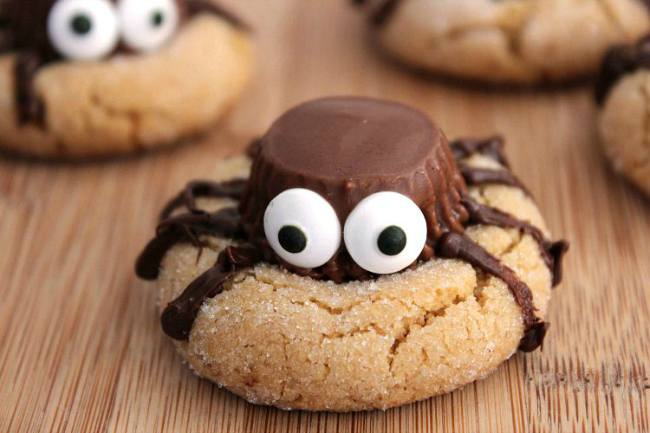 peanut-butter-spider-cookies-recipe