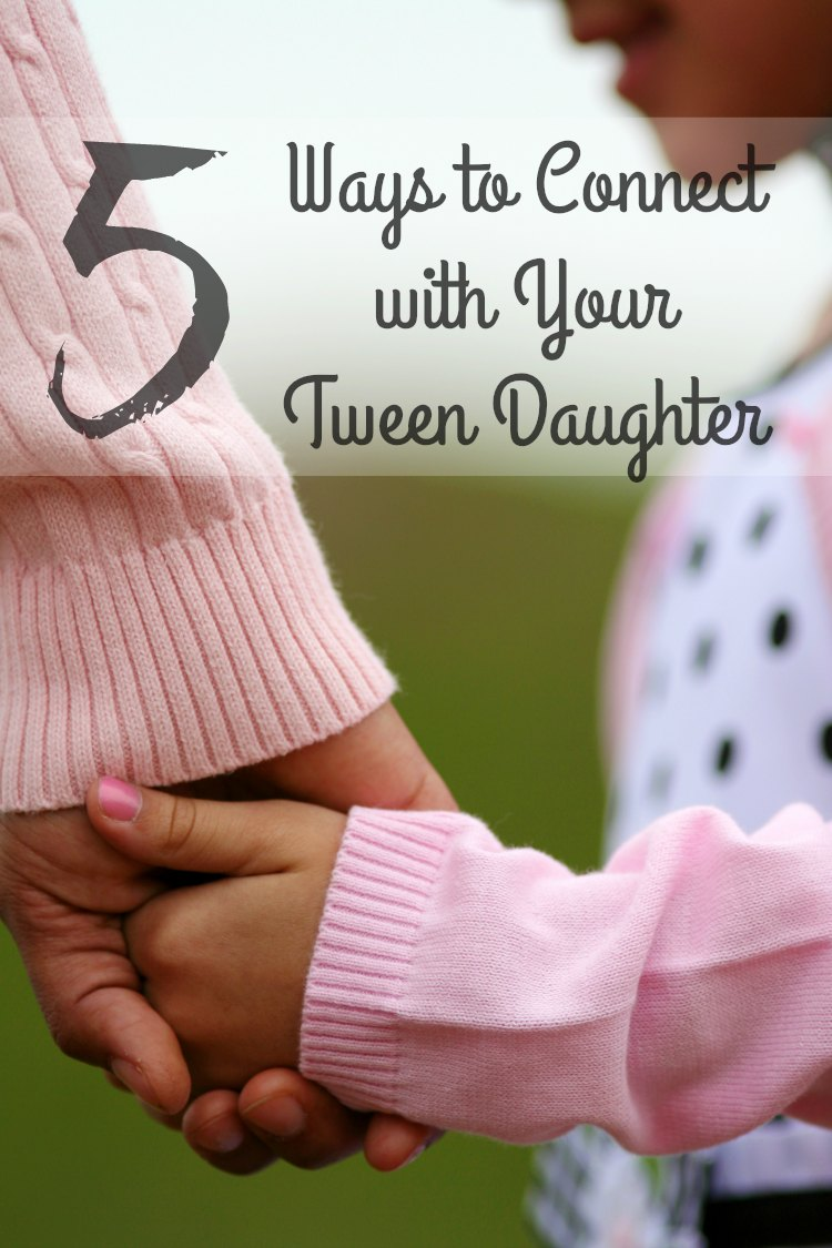 There is nothing like a bond between a mother and her daughter and these Five Ways to Connect with Your Tween Daughter can be what you need to bridge that gap