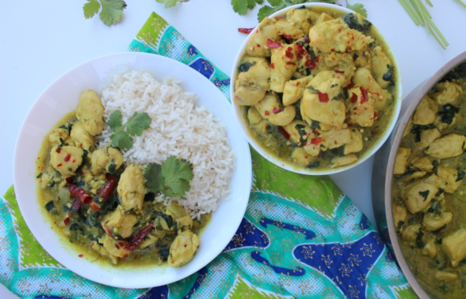 Kuku Paka - East African-Style Chicken Curry recipe