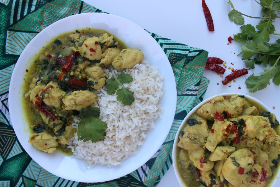 Kuku Paka Kenyan Chicken Curry