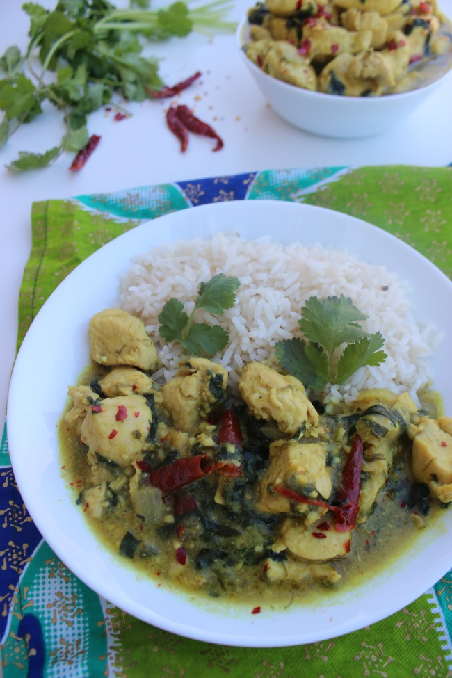 Kuku Paka recipe - Tanzania, Kenya, Africa recipe