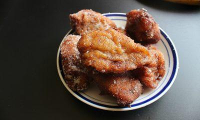Kuih Kodok - Coconut Banana Fritters -
