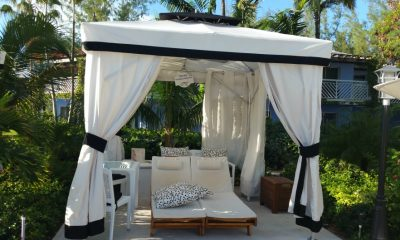 private cabana at beaches turks and caicos