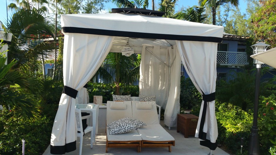private cabana by Butler Service at Beaches Turks and Caicos