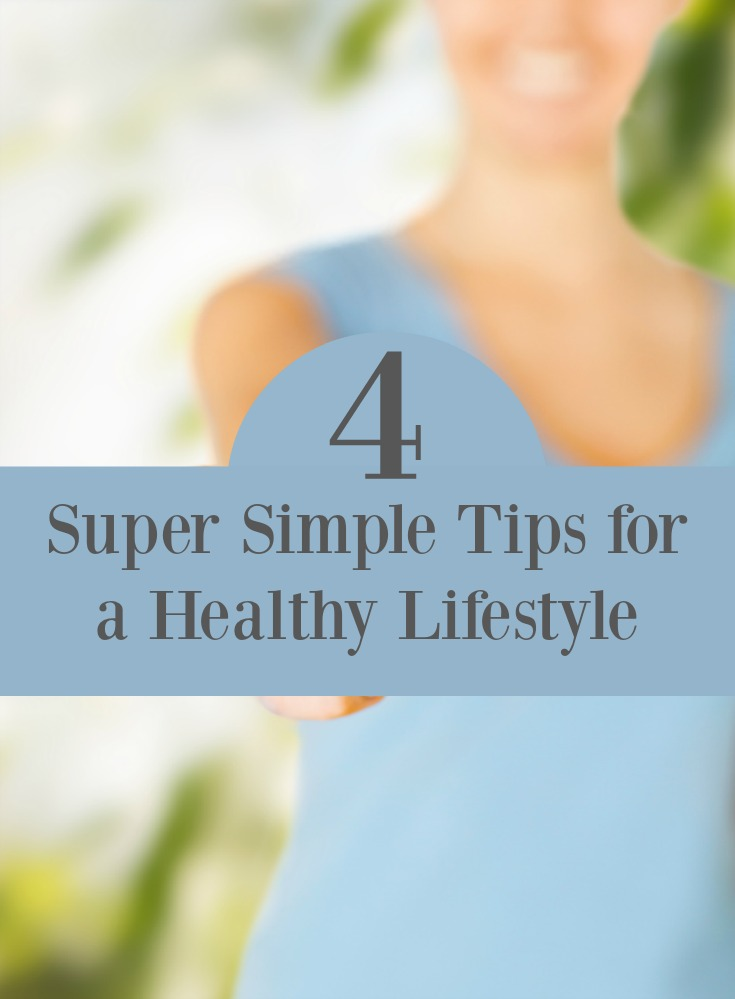 Bikini season is around the corner. Here are four super simple tips for a healthy lifestyle just in time for summer.