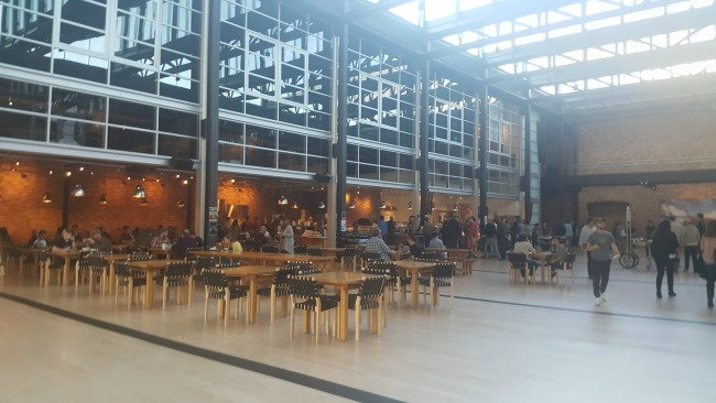 Cafeteria at Pixar Animation Studios