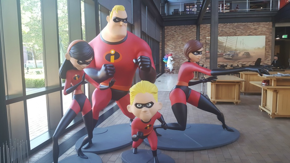 The Incredibles at Pixar Animation Studios