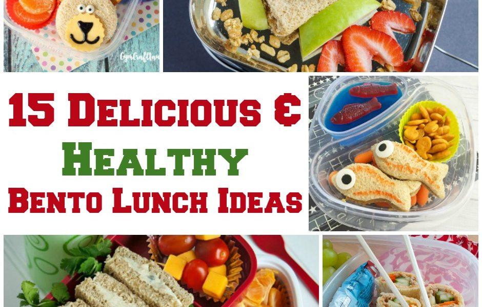 15 Delicious - Healthy Bento Lunch Ideas