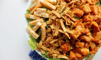 Easy Buffalo Chicken Salad
