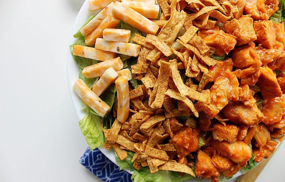 Easy Buffalo Chicken Salad