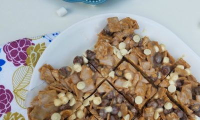 Ooey Gooey No-Bake S'mores Cereal Bars