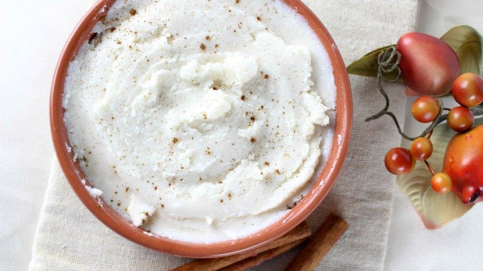 DIY vanilla cinnamon body butter