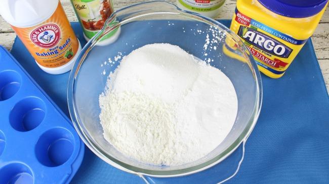 snowflake bath bomb ingredients