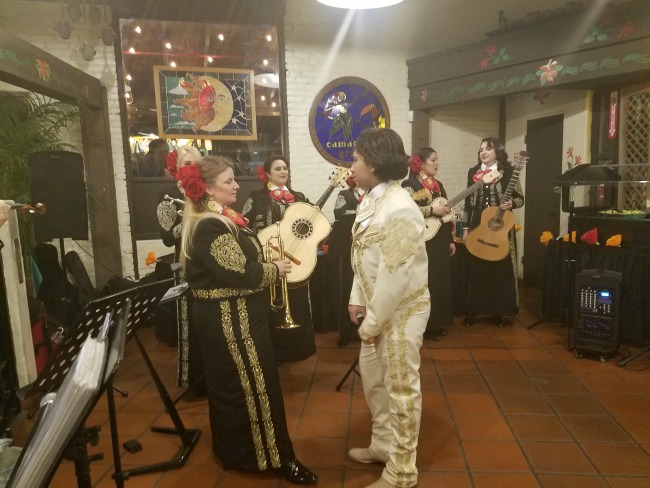 Anthony Gonzalez Miguel performing at La Placita Olvera
