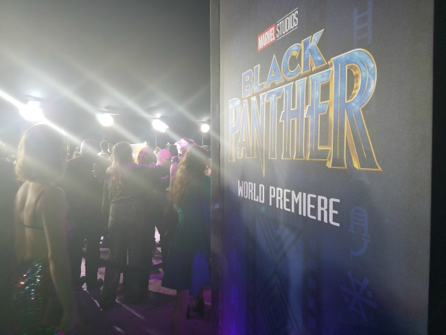Black Panther's World Premiere