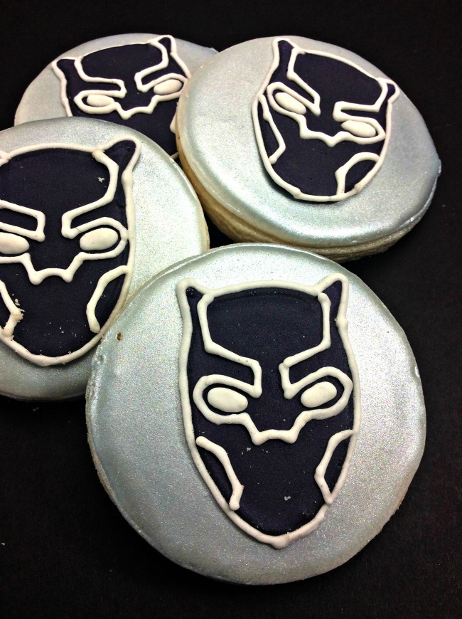 Black Panther Cookies Recipe