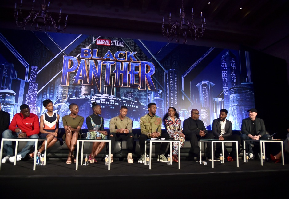 BLACK PANTHER Global Junket Press Conference
