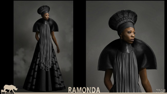 Black Panther RAMONDA costume