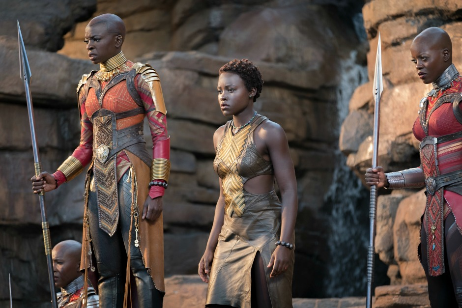 Black Panther Interview with Lupita Nyong'o and Danai Gurira