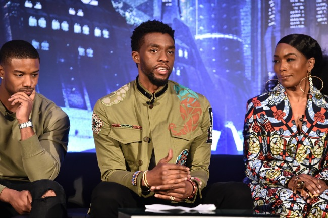 Chadwick-Black Panther Press Conference
