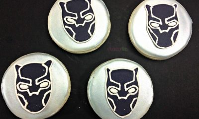 Easy Black Panther Cookies