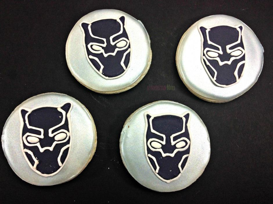 Easy Black Panther Cookies