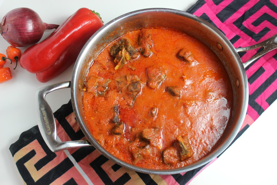 Goat Meat Stew recipe