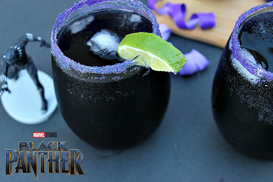 Heart Of Wakanda Cocktail Black Panther Drink Afropolitan Mom