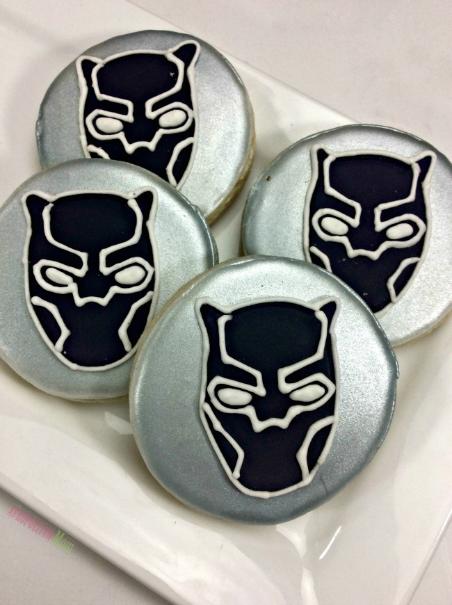 Marvel's Black Panther Cookies