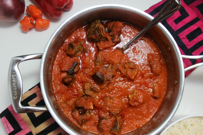 Nigerian Goat Stew recipe