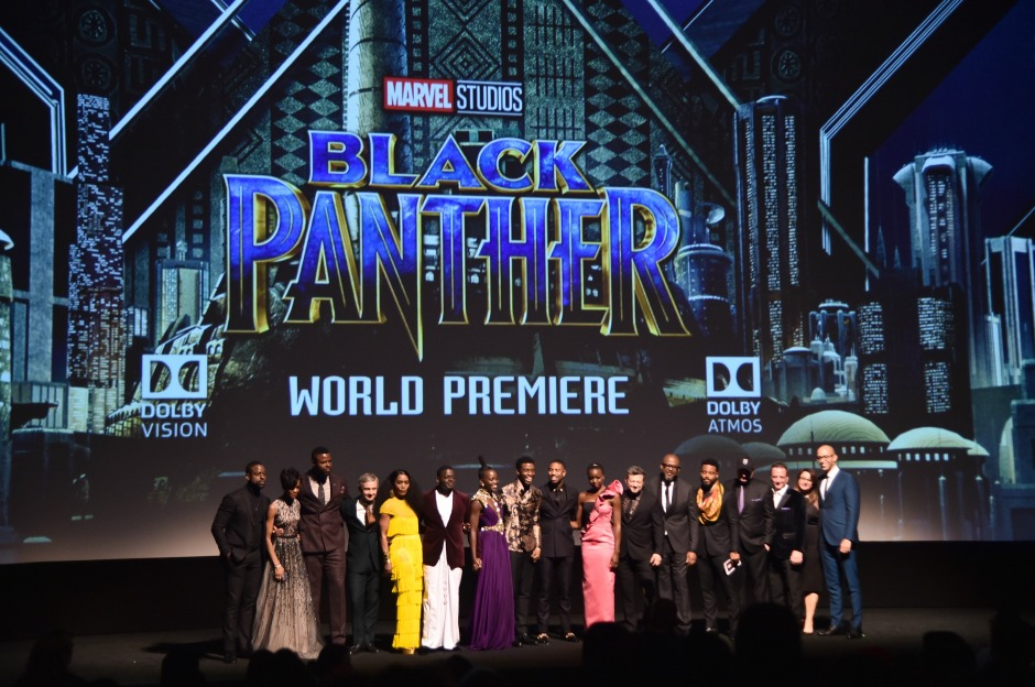 Los Angeles World Premiere of Marvel Studios' BLACK PANTHER at Dolby Theatre