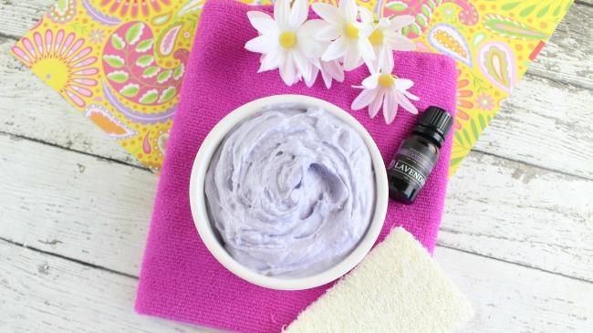 DIY Whipped Lavender Body Butter