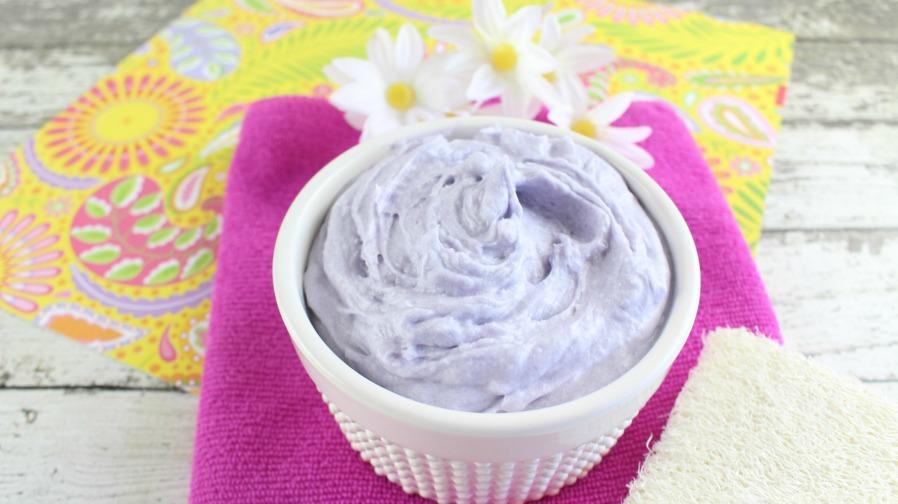 Homemade Whipped Lavender Body Butter