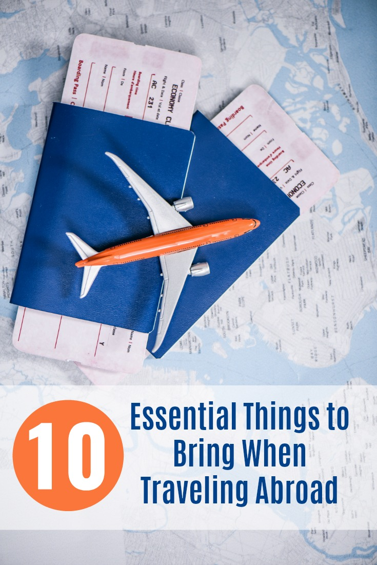 International Travel Packing Checklist - Ten Essential Things to Bring When Traveling Abroad